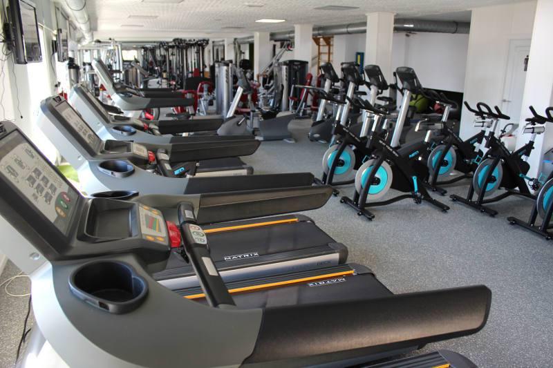 Equipamiento QPRO gym