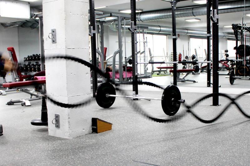 Ejercicio Cuerdas en QPRO Gym
