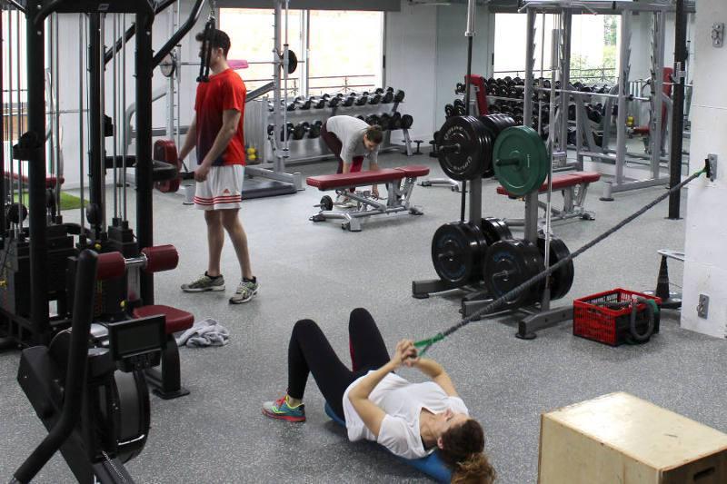 Entreno en QPRO Gym